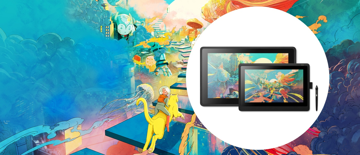 Wacom Cintiq : creative pen display | Wacom