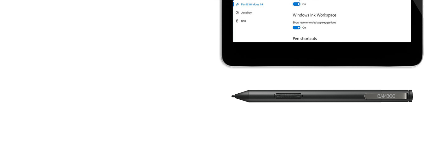 Getting started with Bamboo Ink: smart stylus optimized for